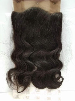 Ali 360 Full Lace Frontal Closure Body Wave 14""