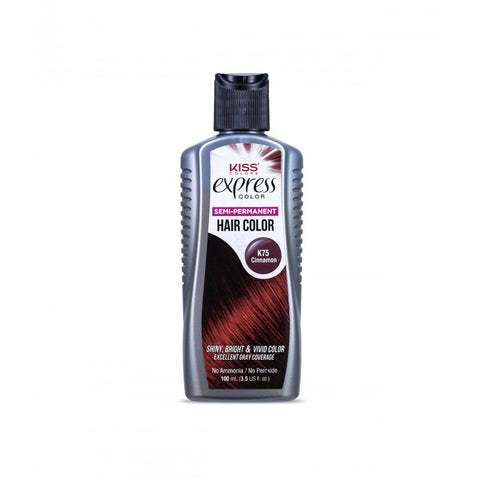 Kiss Express Color Semi-Permanent Hair Color - Cinnamon