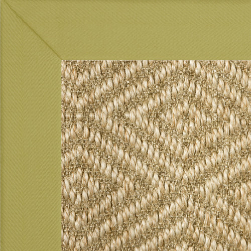 Diamond Sisal II w/ Cotton Border