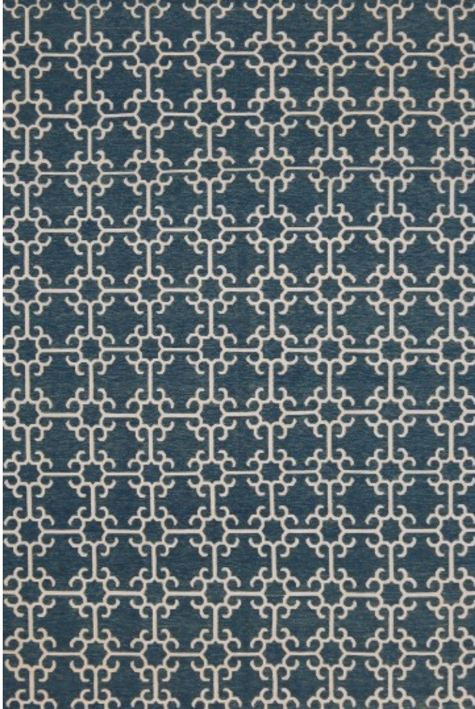 Marrakech Dark Blue Ivory