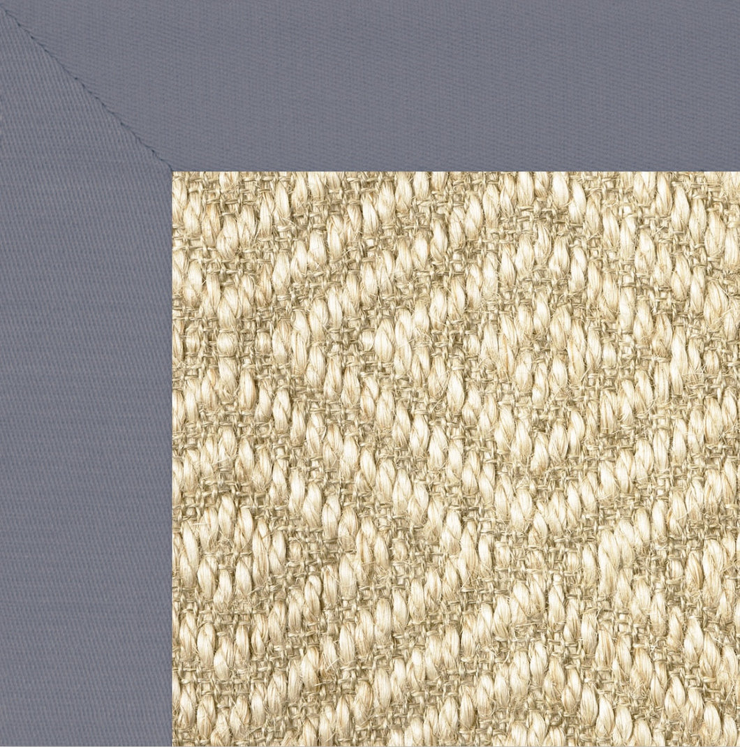 Diamond Sisal II w/ Linen Border
