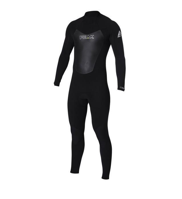 Peak Mens Energy 3/2mm Back Zip Steamer Wetsuit
