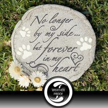 "Pet Grave Memorial Stone - ""No Longer By My Side..."" WS"