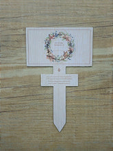 Pet temporary grave marker