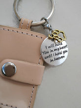 wholesale pet sympathy key ring i will hold you in my heart