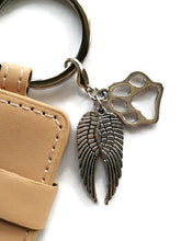 Pet sympathy memorial key chain