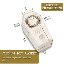 Biodegradable Pet Casket Set - 3 Sizes Available