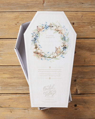 Wholesale cardboard pet casket