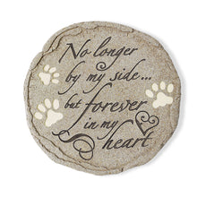 "Pet Grave Memorial Stone - ""No Longer By My Side..."""