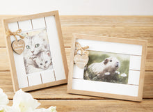 Pet Loss Memorial Gift Set with Photo Frame, Seed Card & Candle.