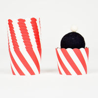 Baking & Treat Cups - Red & White