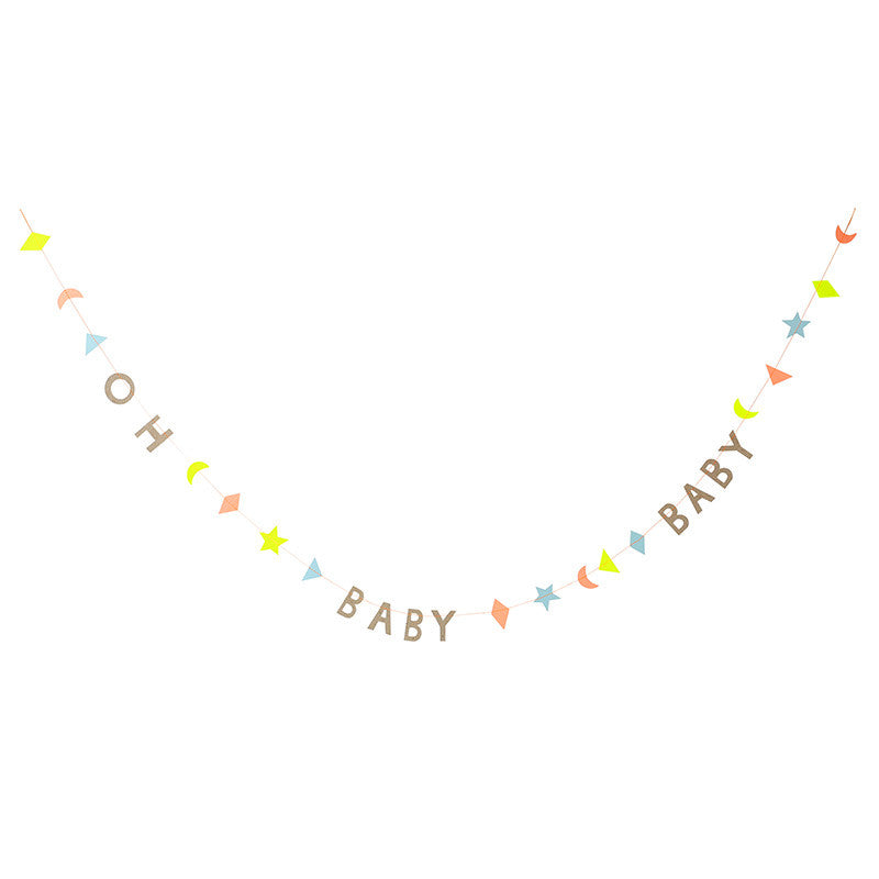 Meri Meri Party Garlands - Perfect for new arrival celebration and baby showers.