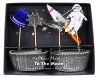 To the Moon Cupcake Kit
