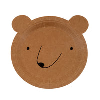 Adorable bear plates by Meri Meri