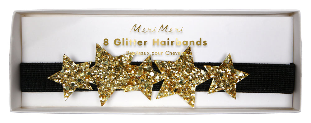 Star Glitter Hair Bands