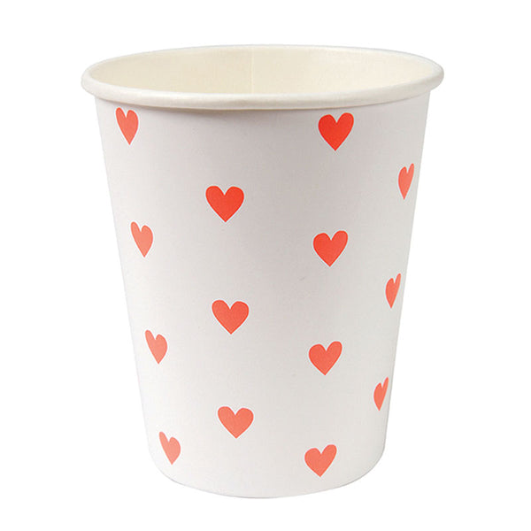 Pink Heart Party Cup