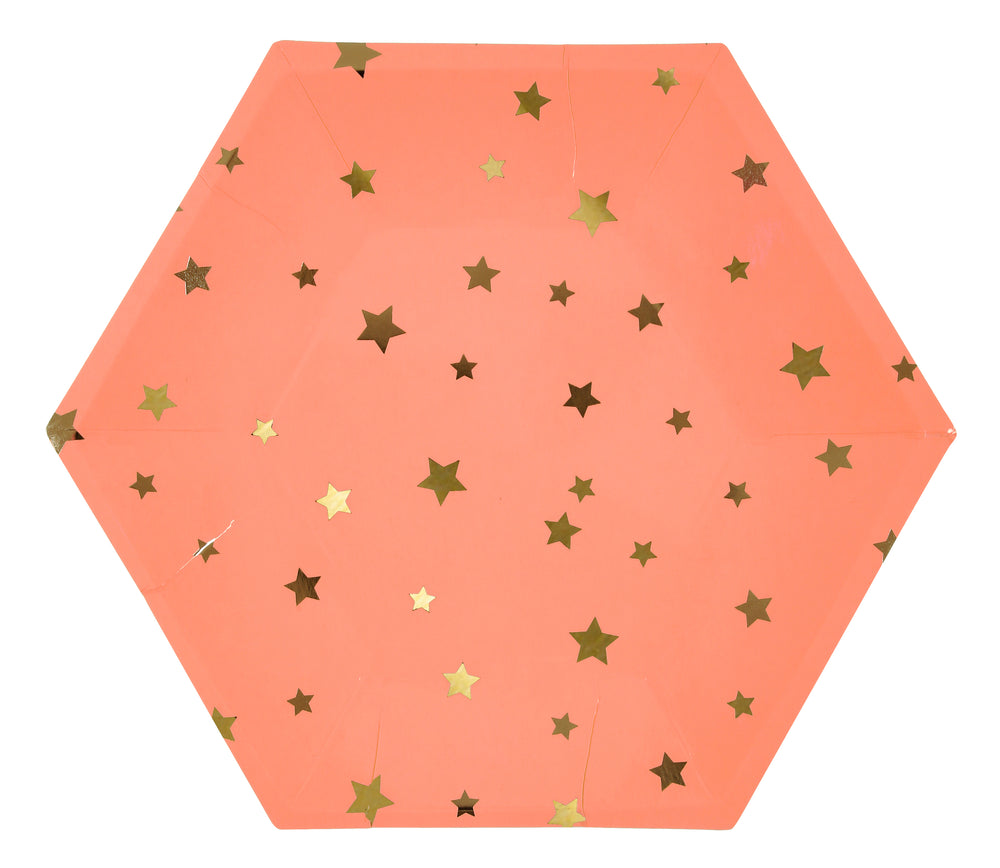 Jazzy Star Plates - Large