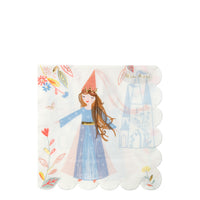 Magical Princess Party Napkins - Large