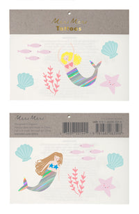 Mermaids Temporary Tattoos