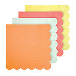 Neon Party Napkins - Large