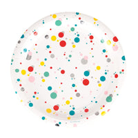 Multicolored Bubble Plates