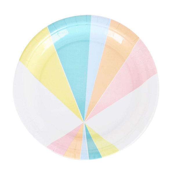 Party Plates - Pastel