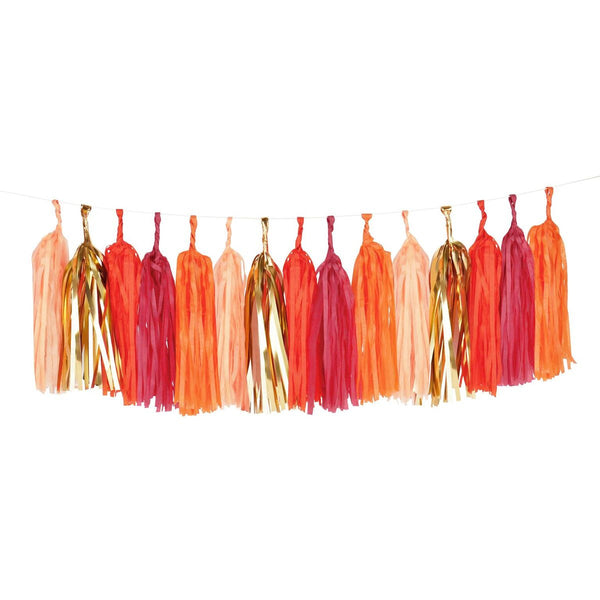 Tassels Garland Kit - Red