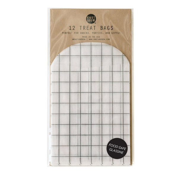 Windowpane Glassine Treat Bags