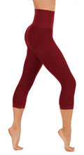 CodeFit Power Flex High Compression Pants Dry-Fit Workout Women's Capri Leggings