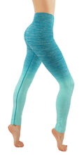 Yoga Power Flex Dry-Fit Pants Workout Ombre Printed Leggings