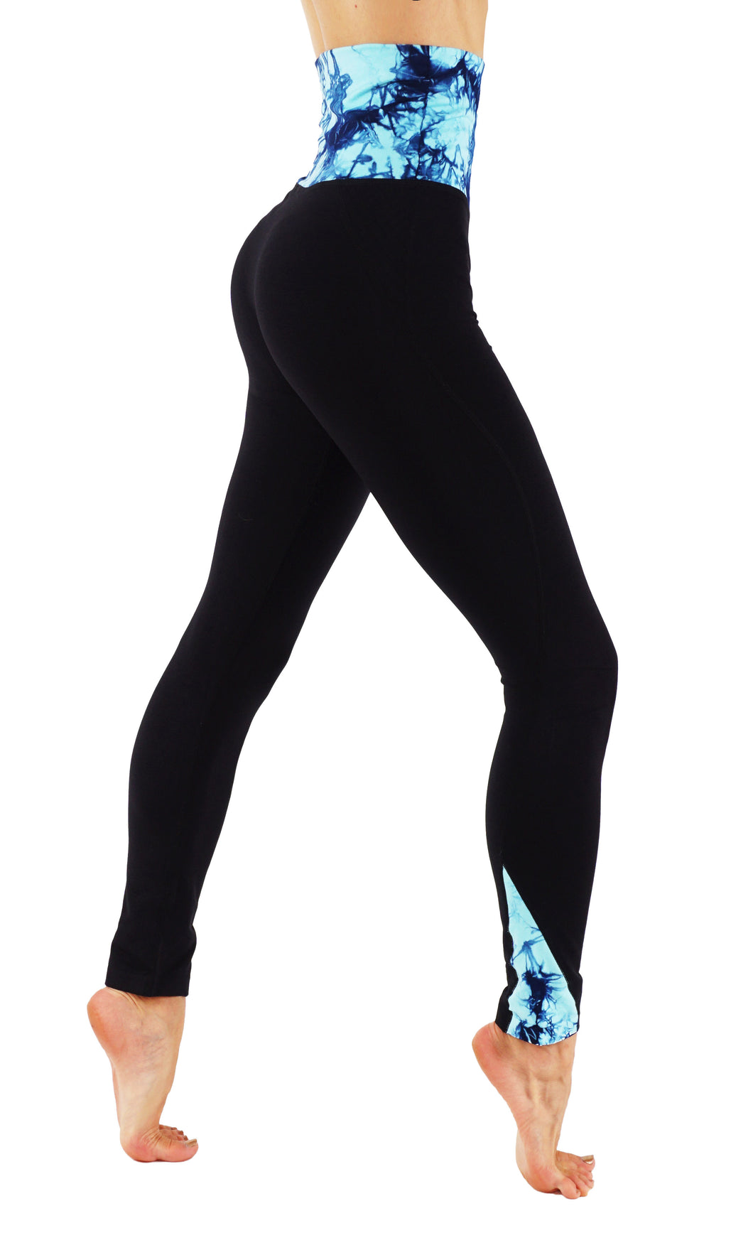 Yoga High Waist band Leggings Y002
