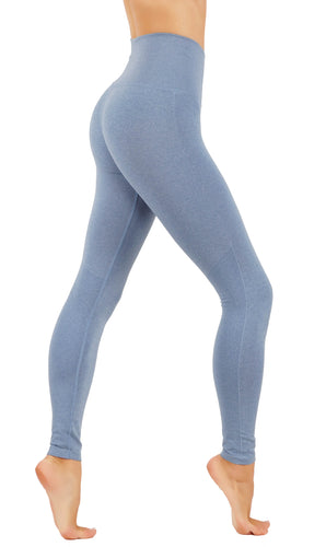 Yoga Power Flex Dry-Fit Pants Workout Two Tone Color Leggings