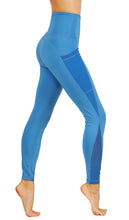 Yoga Leggings with deep mesh pockets on both sides CFD674