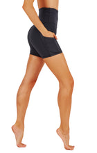 High Waist Tummy Control Dry-Fit Yoga Shorts With Deep Side Pockets