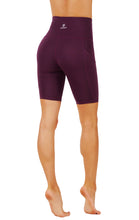 High Waist Tummy Control Dry-Fit Yoga Bermuda Shorts With Deep Side Pockets