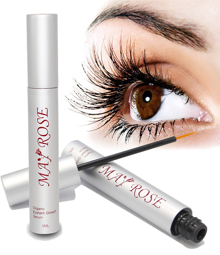 Eyelash Growth Enhancer Serum for Long Ticker Lashes and Eyebrow No Irritation (5mL)