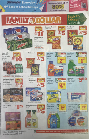 RetailMeNot 8-4 Whole Coupon Insert (RMN 8-4)