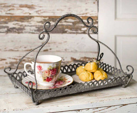 CHANTILLY SERVING TRAY - Avenue of Oaks Decor