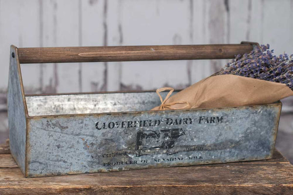 CLOVERFIELD DAIRY FARM TABLE CADDY - Avenue of Oaks Decor