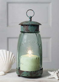 MASON JAR LANTERN CANDLE HOLDER - Avenue of Oaks Decor