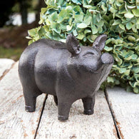 SMALL PIGLET GARDEN STATUE - Avenue of Oaks Decor
