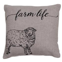 "FARM LIFE PILLOW, 10"" - Avenue of Oaks Decor"