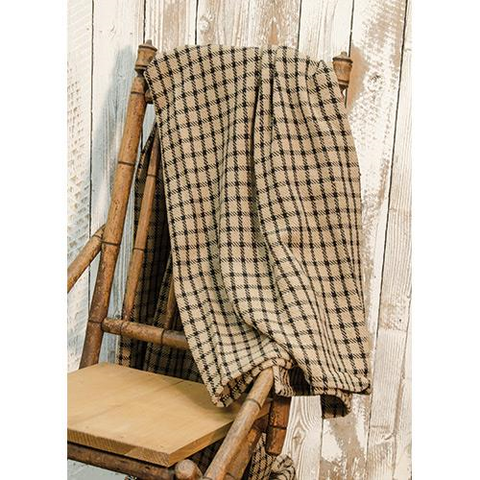 FARMHOUSE CHECK THROW BLANKET - Avenue of Oaks Decor
