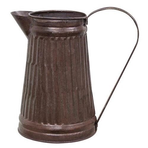COPPER GALVANIZED KITCHEN WATER PITCHER - Avenue of Oaks Decor