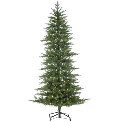 LED Natural Cut Nottingham Pine, 7.5 ft. - Avenue of Oaks Decor