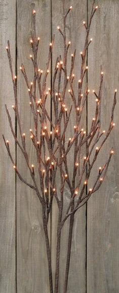 WILLOW TWIGS LIGHTED BRANCH - Avenue of Oaks Decor