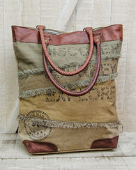 JOURNEY CANVAS TOTE BAG - Avenue of Oaks Decor