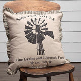 WINDMILL ACCENT PILLOW - Avenue of Oaks Decor