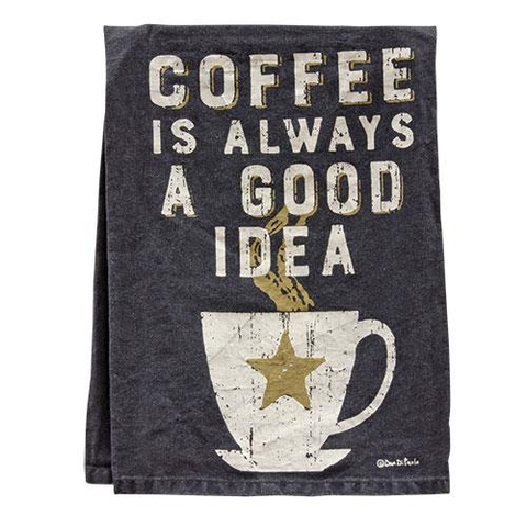 Coffee Decor Dish Towel - Avenue of Oaks Decor