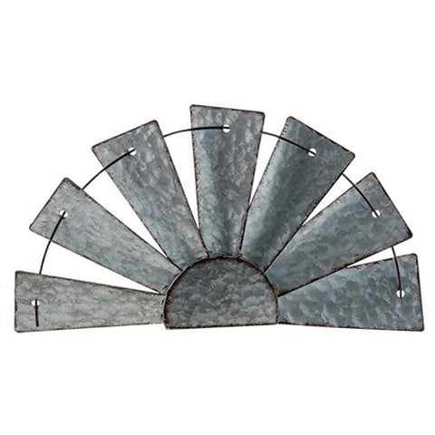 RUSTIC HALF WINDMILL WALL ART - Avenue of Oaks Decor